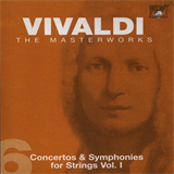 CD 06 - Concertos & Symphonies for Strings Vol. I