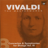 CD 08 - Concertos & Symphonies for Strings Vol. III