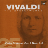 CD 25 - Violin Sonatas Op. 2 Nos. 1-6