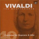 CD 40 - Cantatas for Soprano & Alto