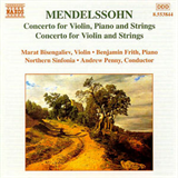 Concertos for Violin y Strings for Piano Violin y Strings